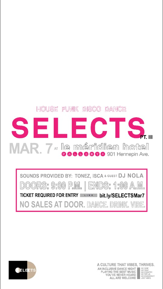 selects.